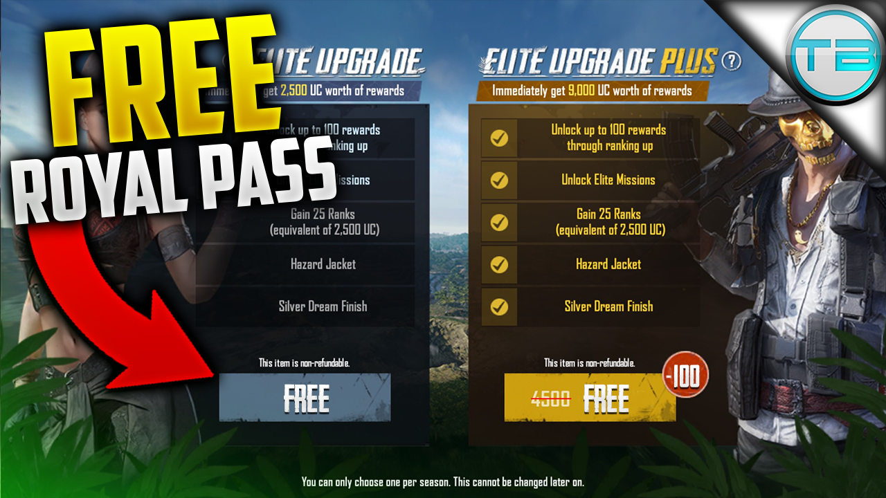 Want to get a PUBG Royal Pass for Free? | How to get Free