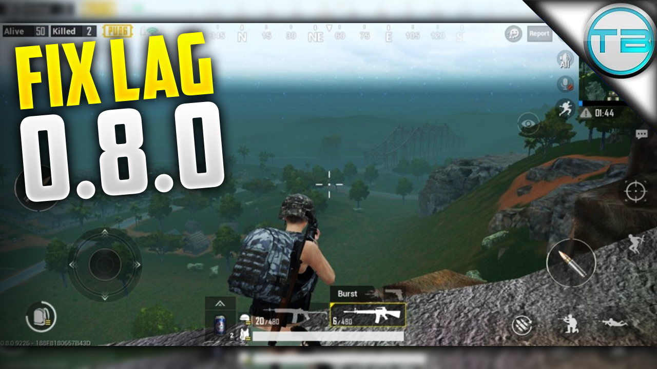 How To FIX LAG On PUBG Mobile 0 8 0 - NO BAN - Techno Brotherzz