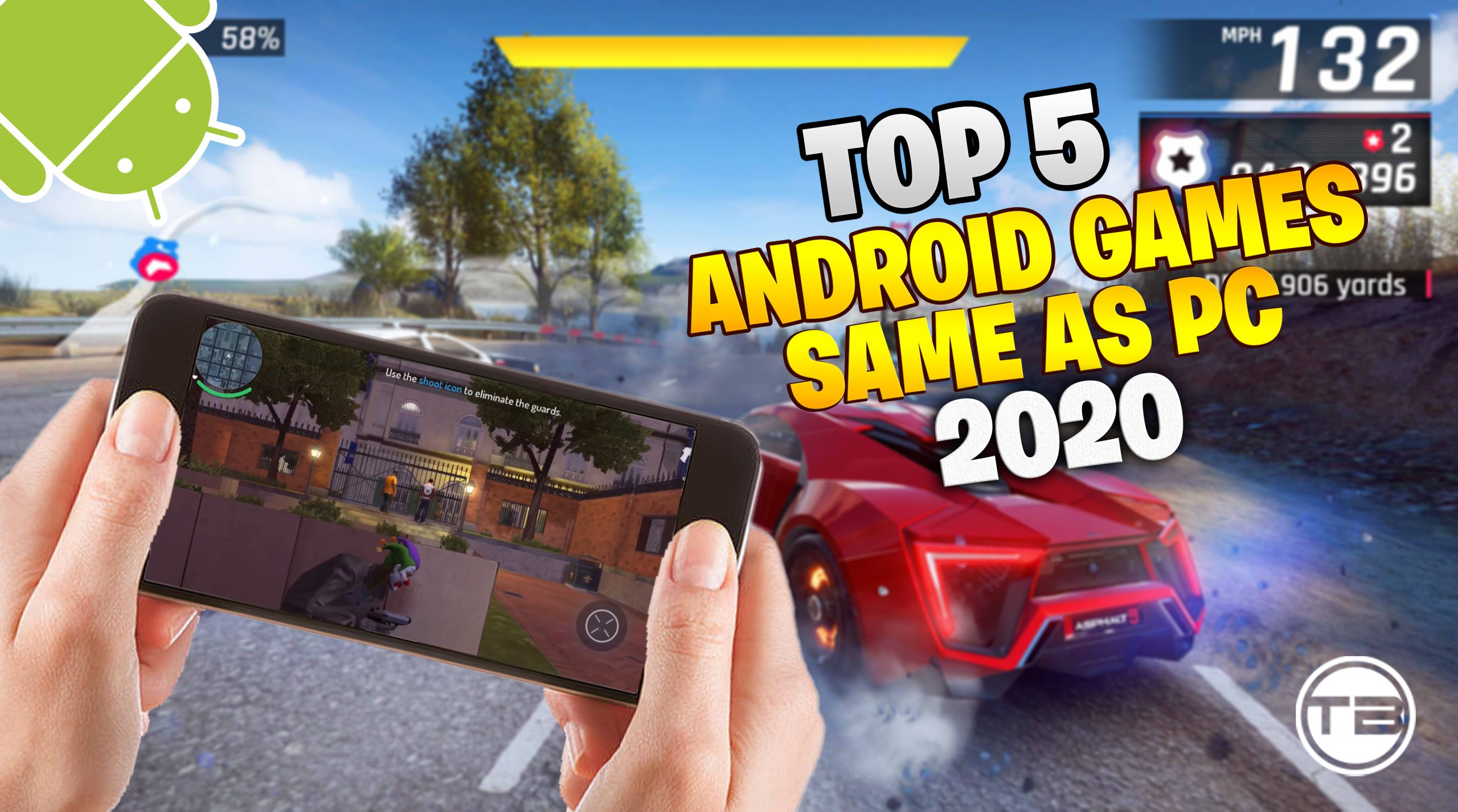 Top 5 New Android Game Same As Pc 2020 High Graphics Techno Brotherzz