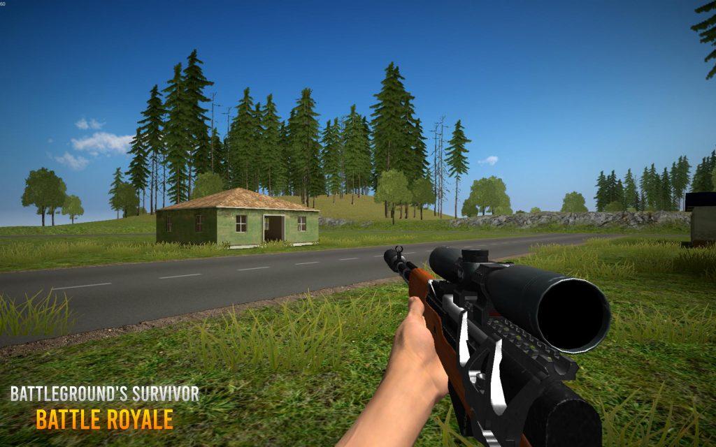 download Battleground survivor game on United State server