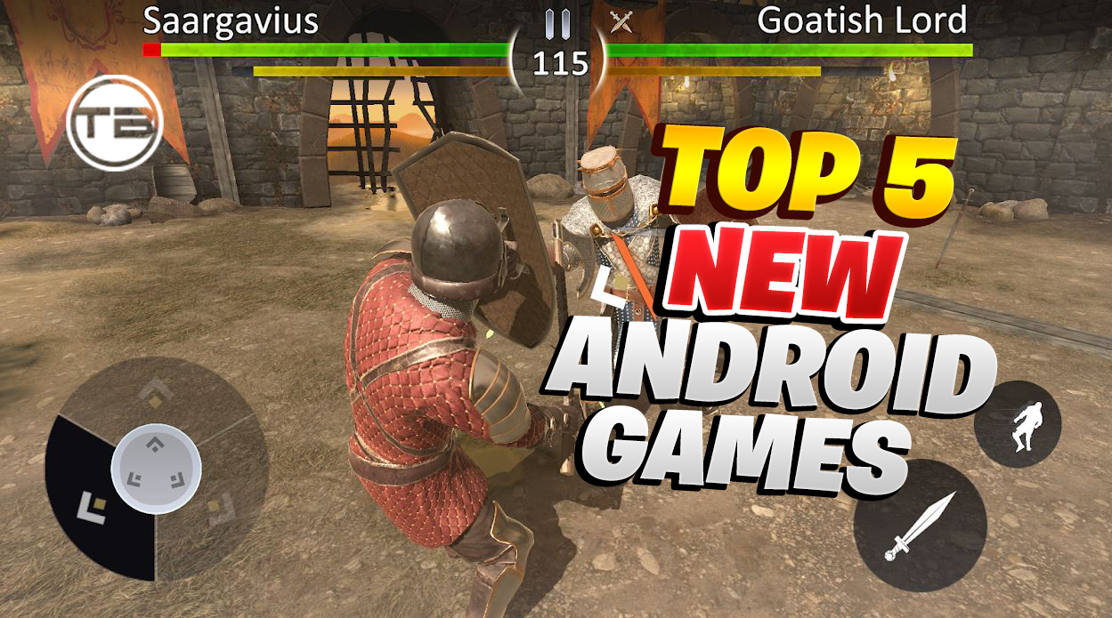 Top 5 New Android Games on United State server