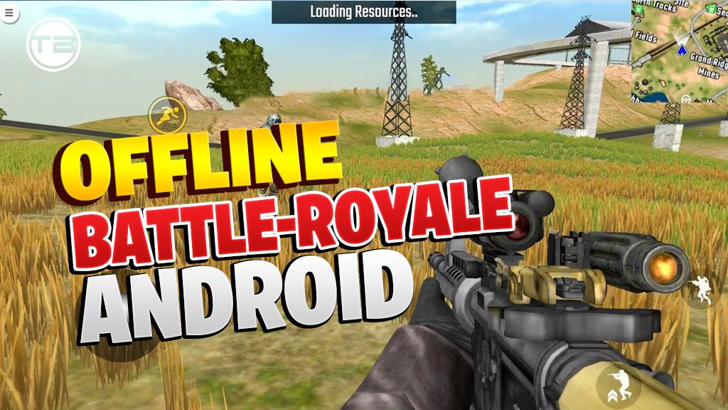 download Top 5 Offline Battle-Royale Android Games on United State server