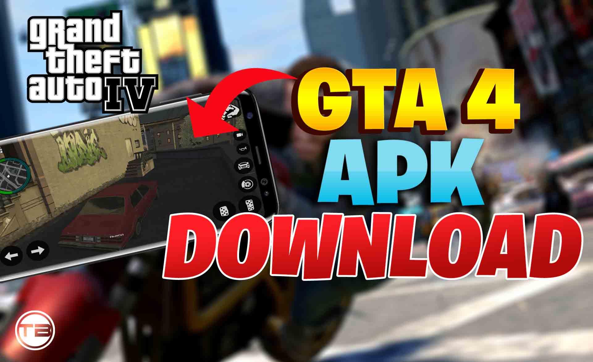 Download gta 4 mod apk