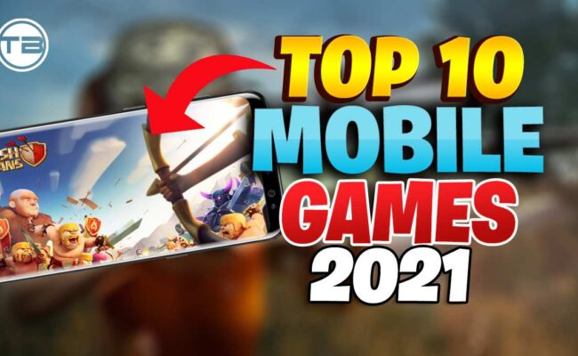 Top 10 Mobile Games of 2021 in united state